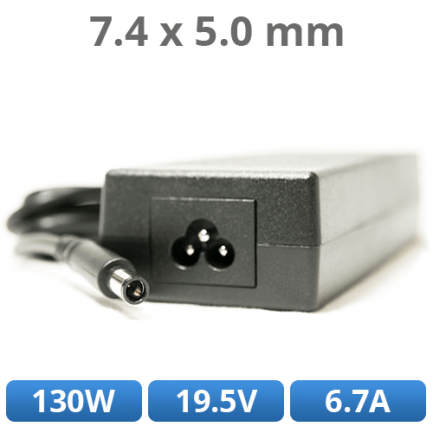 NABÍJAČKA DELL - 130W, 19.5V, 6.7A, 7.4x5.0mm