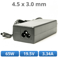 NABÍJAČKA DELL - 65W, 19.5V, 3.34A, 4.5x3.0mm